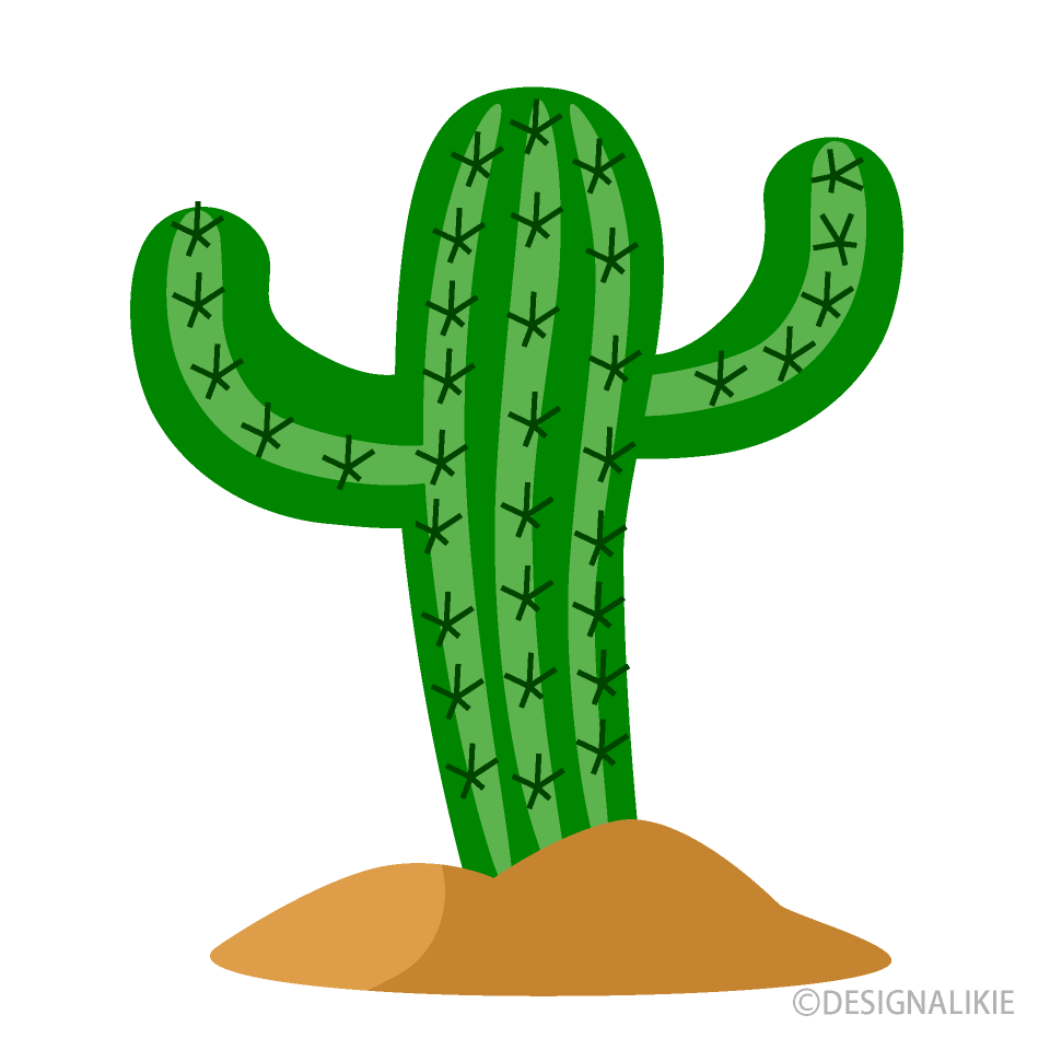vector freeuse stock Cactus clipart. Desert free picture illustoon.