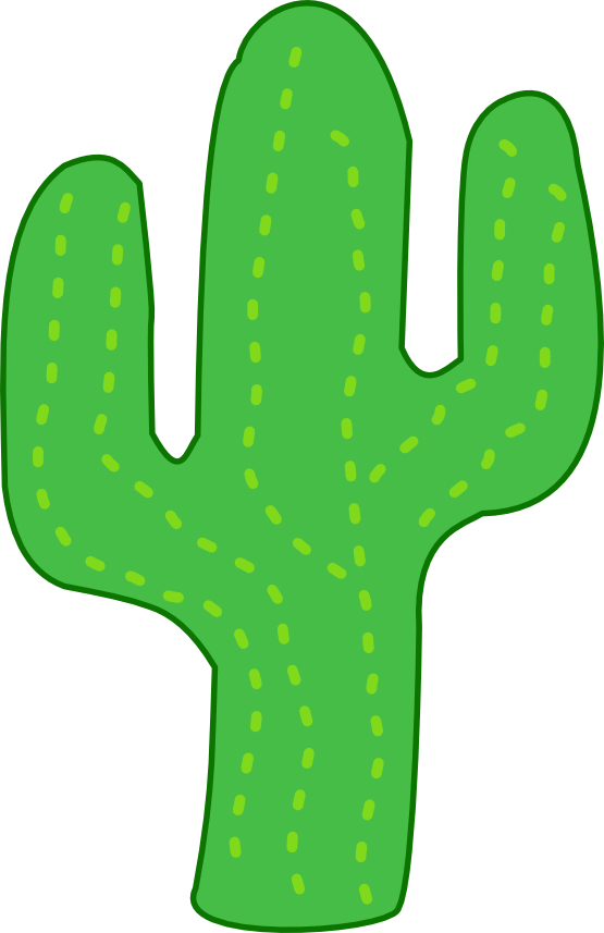 freeuse stock Cactus Clipart
