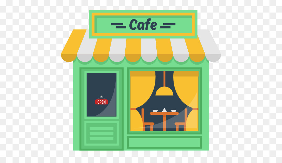clip black and white library Cafe clipart. Green coffee restaurant transparent.