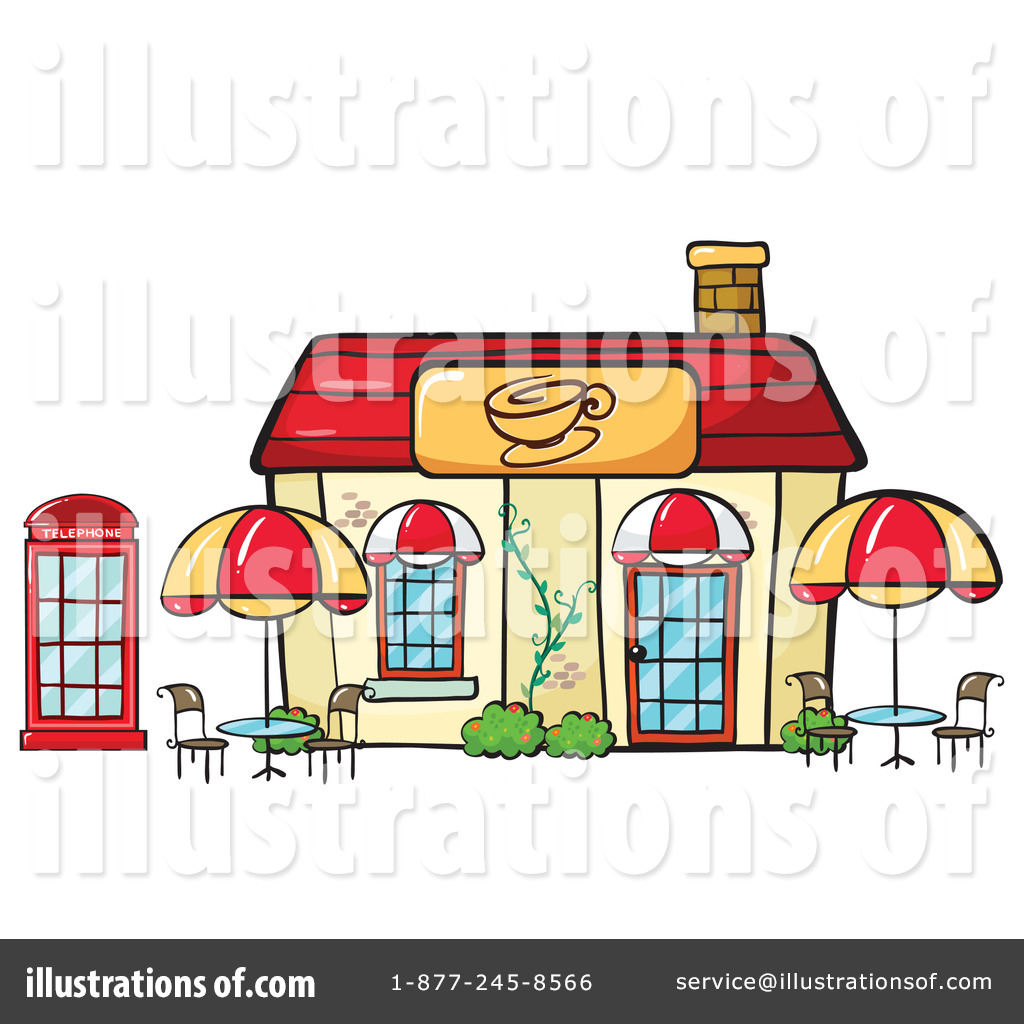 banner library stock Cafe clipart. Illustration by graphics rf.