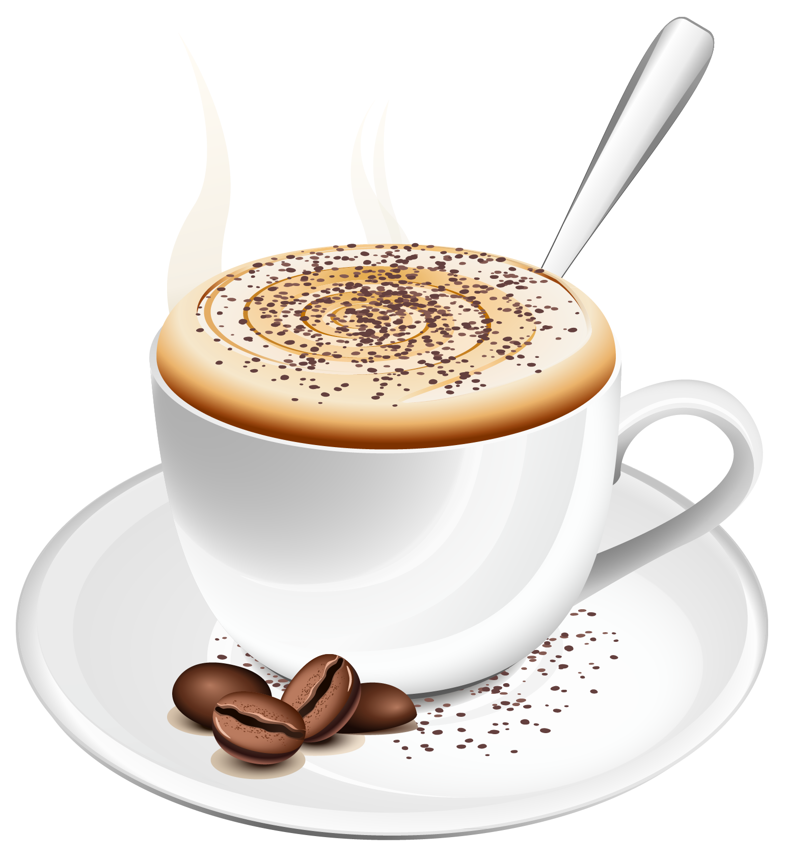 svg stock Latte clipart. Cup of coffee png