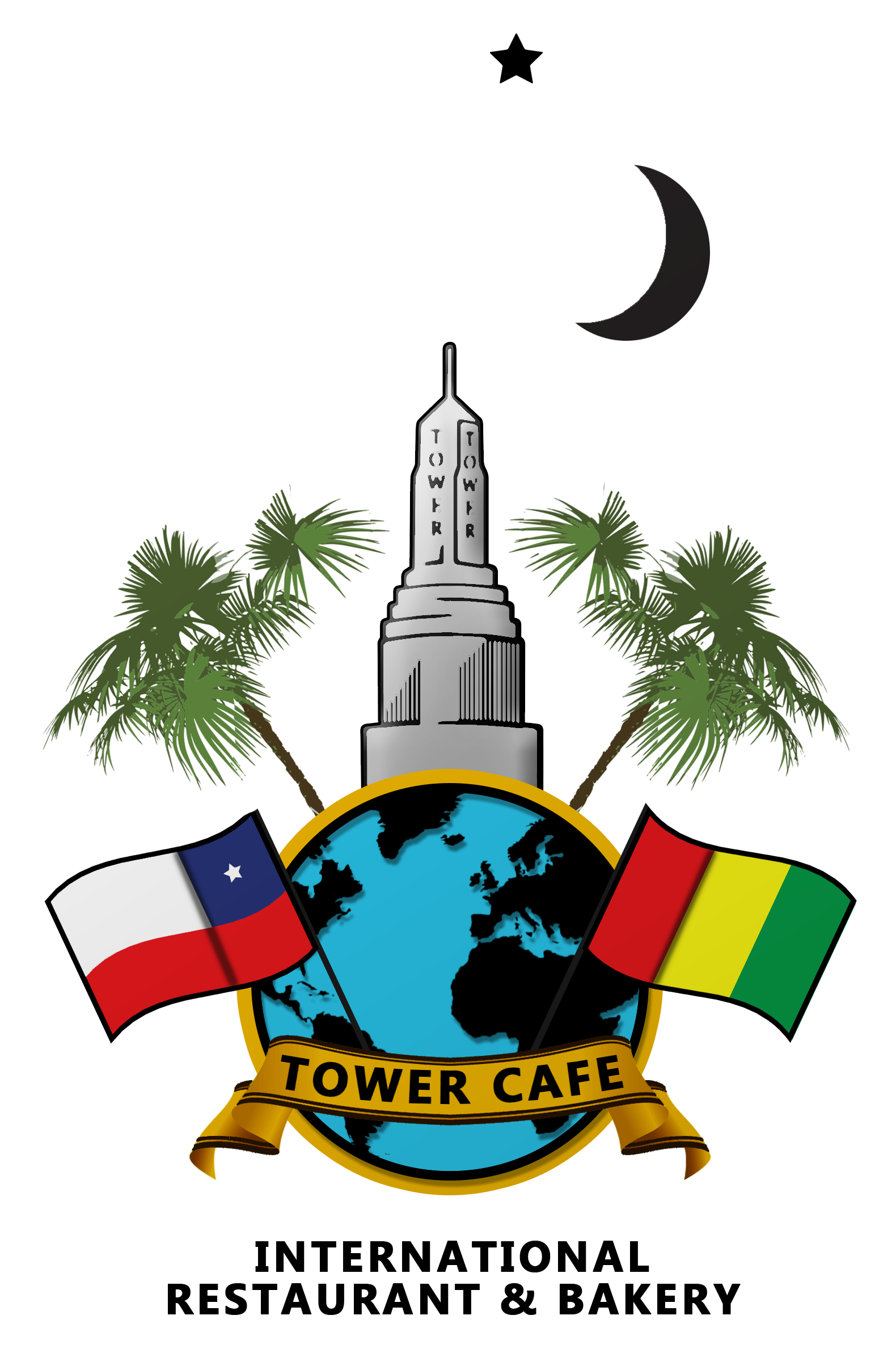 banner library library Cafe clipart small restaurant. Menu tower .