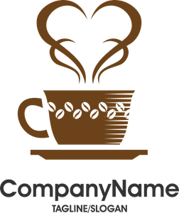 graphic freeuse library Vector coffee creative. Cafe day logo cdr