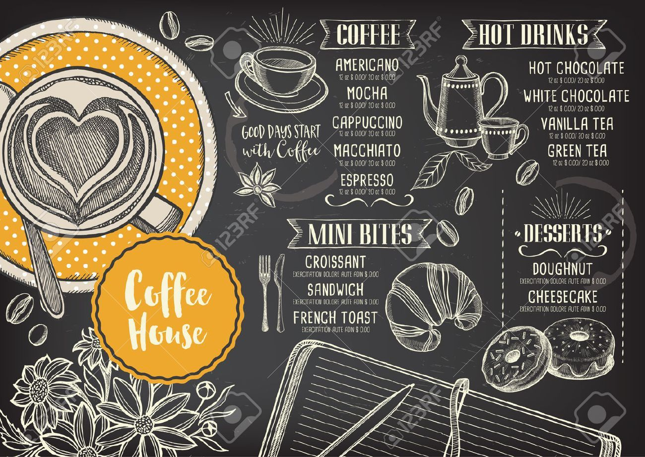 graphic royalty free Vector coffee shop. Stock my saves in
