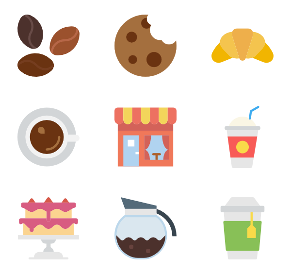 png library library Vector coffee flat. Mug icons free shop
