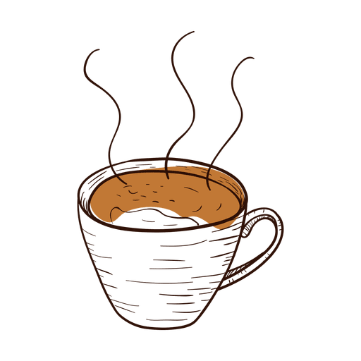 svg royalty free download Vector coffee hand drawn. Cup transparent png svg