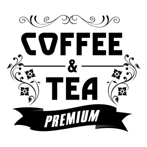 picture freeuse Decorative premium coffee label