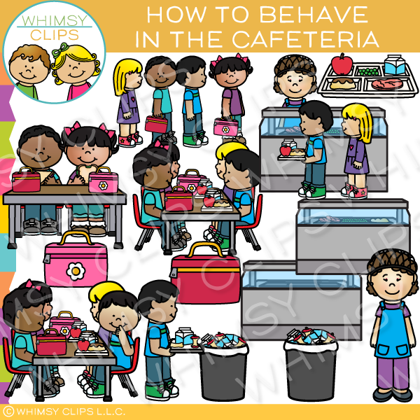 png free stock Cafeteria clipart. How to behave in