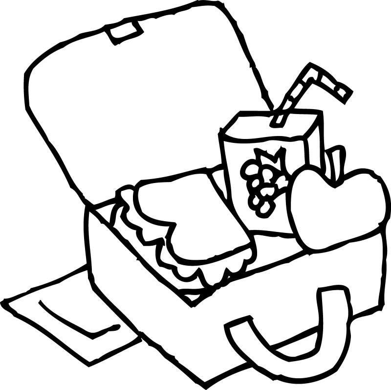 clipart black and white stock School Cafeteria Drawing at GetDrawings
