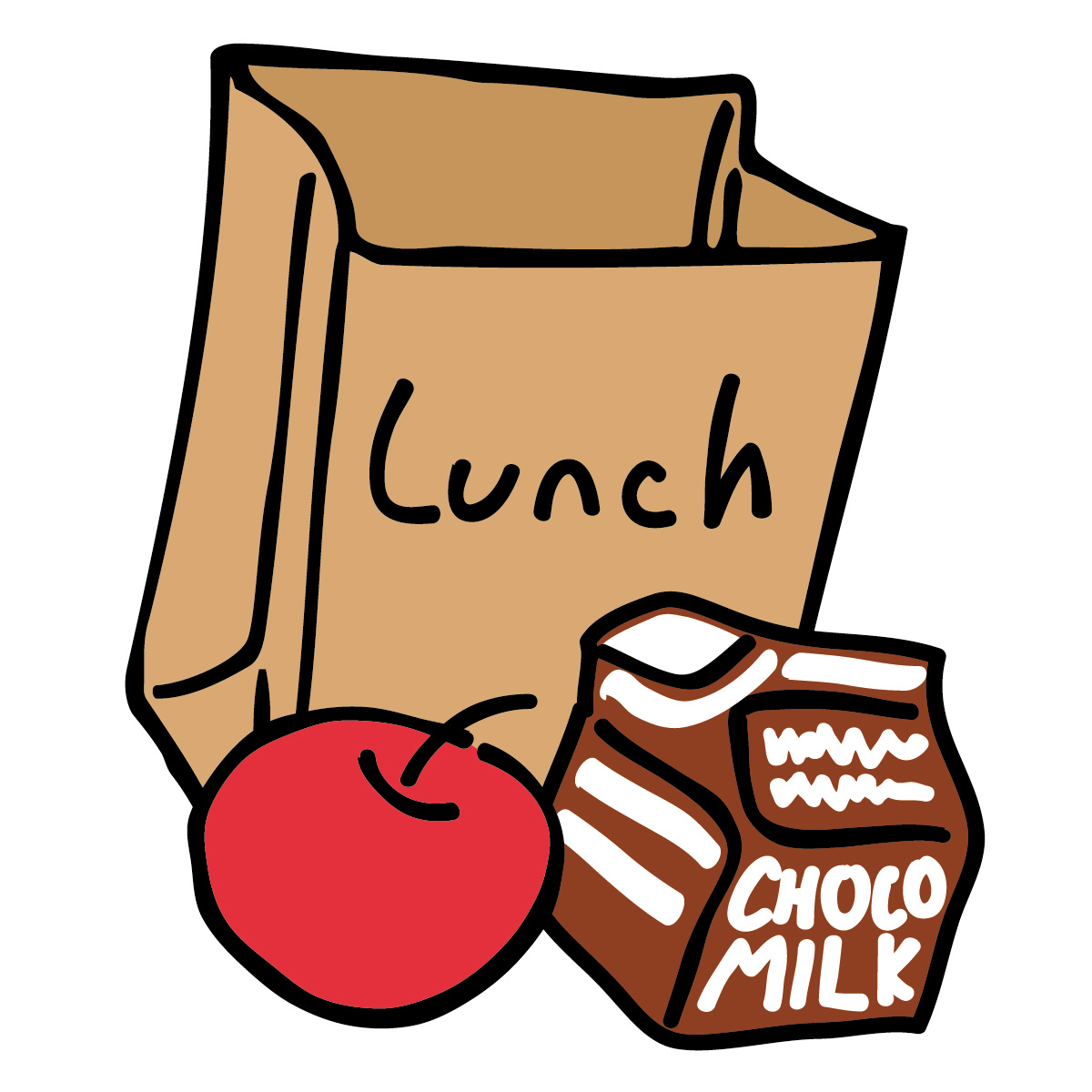 image free stock Lunch clipart. Time clip art panda.