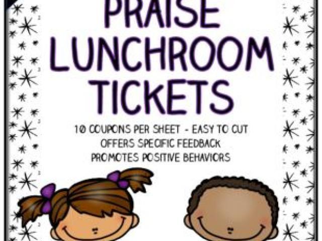 clipart library Cafeteria clipart lunch ticket. Free mammal oso download.