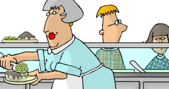 clip art library download Lunch lady . Cafeteria clipart vendor.