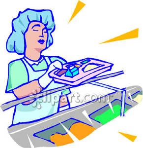 banner freeuse download Cafeteria clipart vendor. Food server .