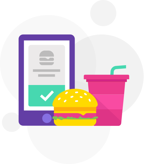 image transparent download Cafeteria clipart vendor. Cashless corporate solution zeta.