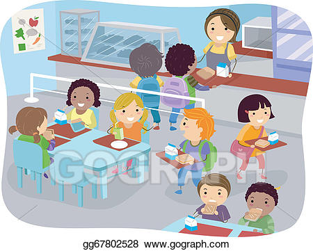black and white stock Cafeteria clipart vendor. Webstockreview .