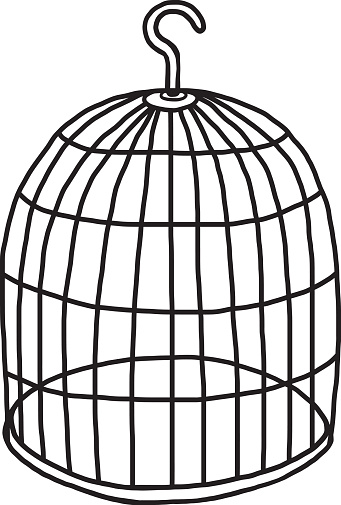 clip download Free empty birdcage cliparts. Cage clipart.