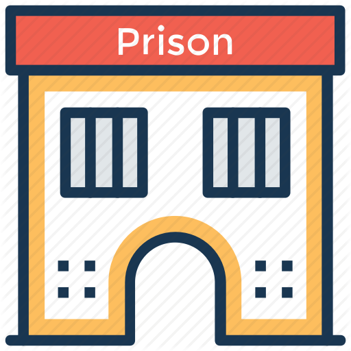 graphic transparent library Cage clipart jail cell. Buildings by prosymbols correctional.