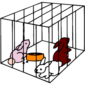 picture freeuse download Cage clipart rabbit cage. Clip art library