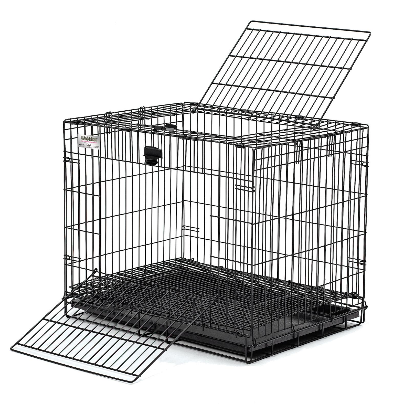 vector royalty free Midwest wabbitat folding . Cage clipart rabbit cage
