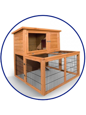 black and white library Hutches cages online brisbane. Cage clipart rabbit cage.