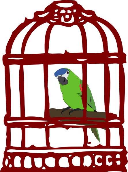 jpg transparent stock Caged bird free on. Cage clipart rabbit cage.