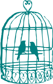 jpg transparent stock Cage clipart rabbit cage. Caged bird free on