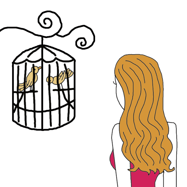 svg library Cage clipart sad. Caged bird dream dictionary.