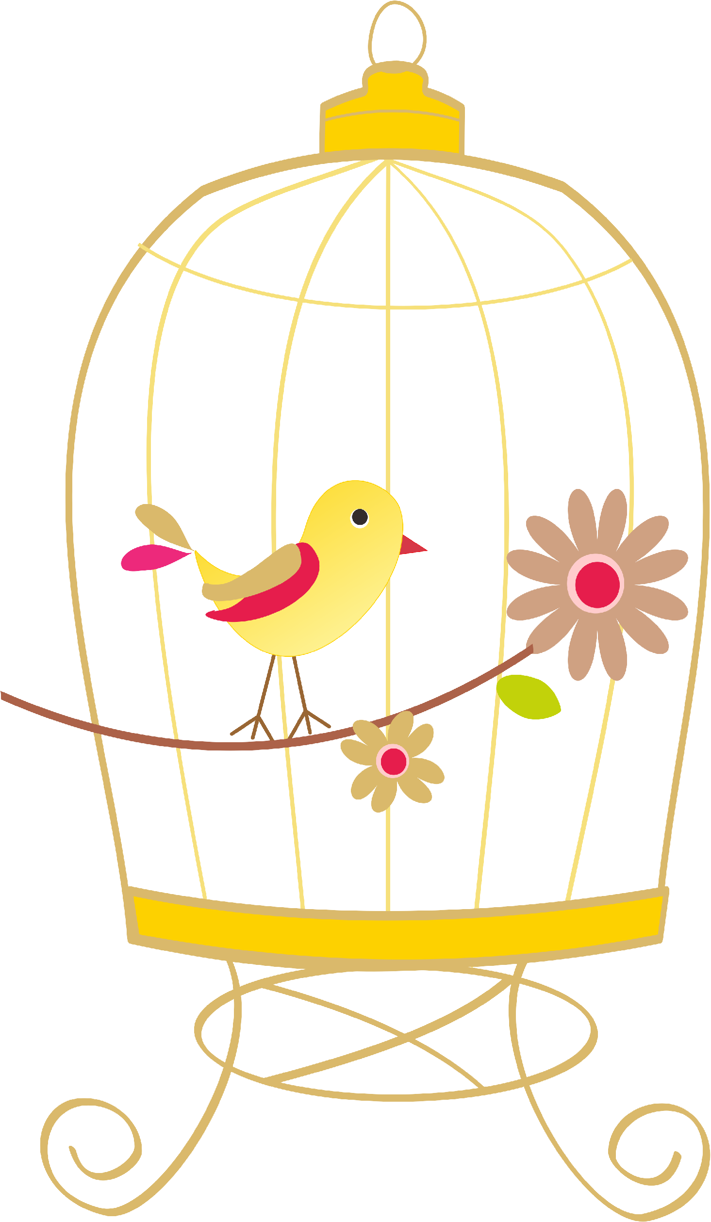 graphic free Cage clipart sad. Index of images birdcagepng.