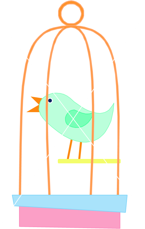 png transparent library Cage clipart wedding.  collection of bird.
