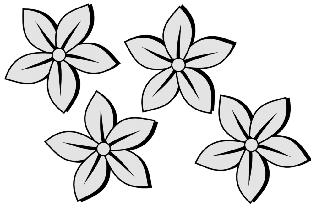 graphic freeuse stock Collection of free download. Drawing pic flower