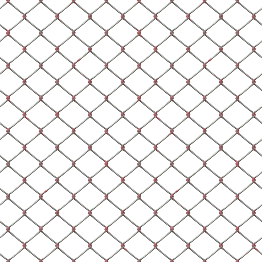 vector black and white library net drawing metal fence #100298355