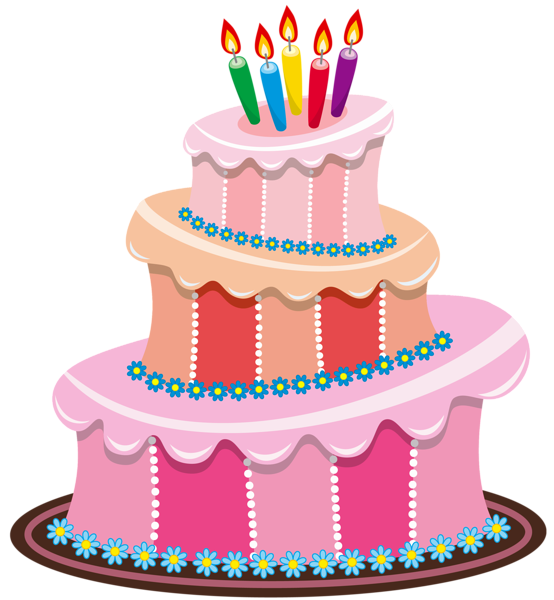 jpg Cake clipart. Cute birthday gallery free.