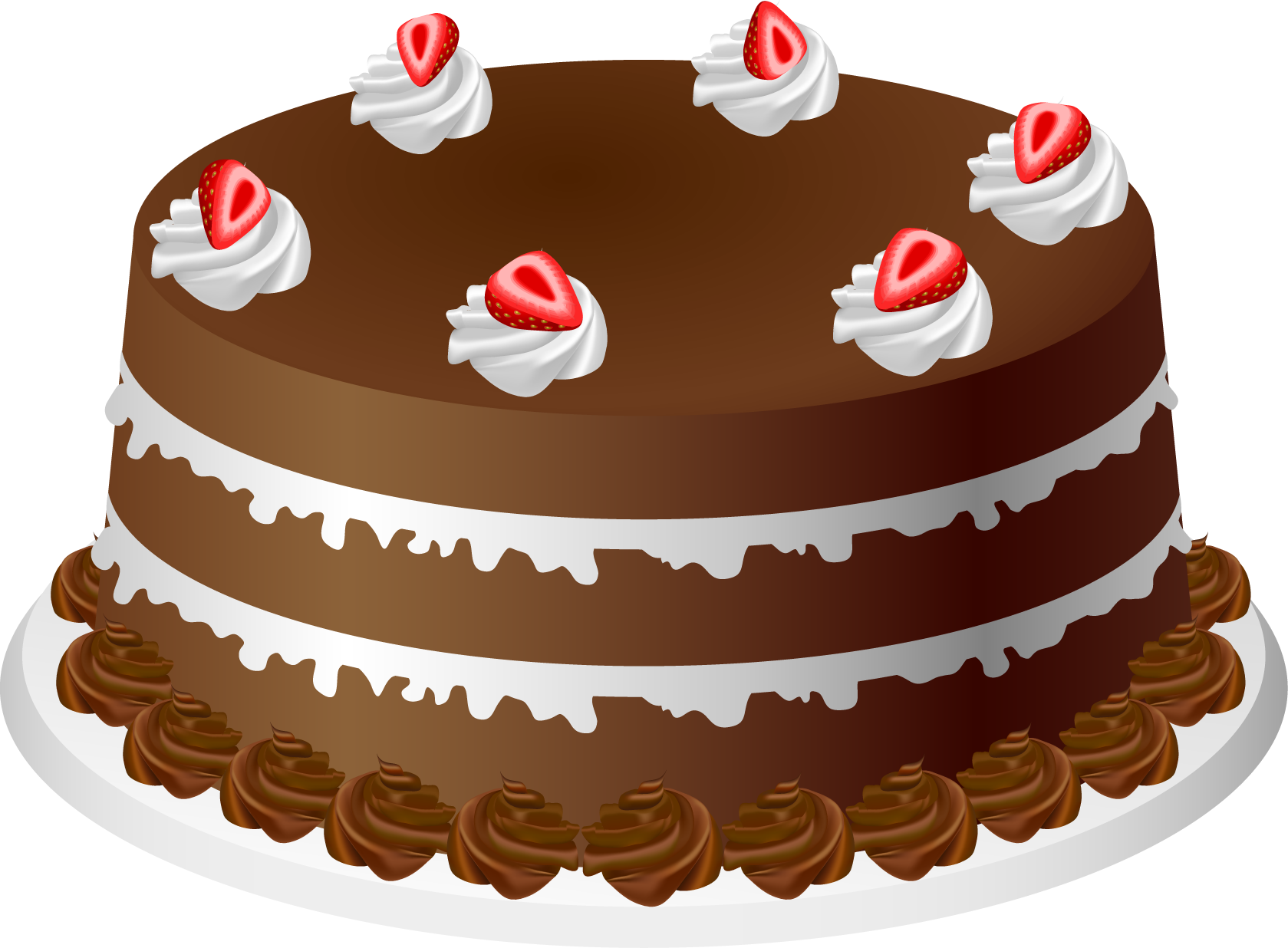 graphic library stock Cake clipart. Chocolate .