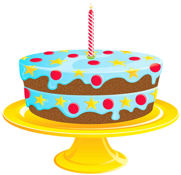 image library stock Blue birthday png gallery. Cake clipart baked goods.