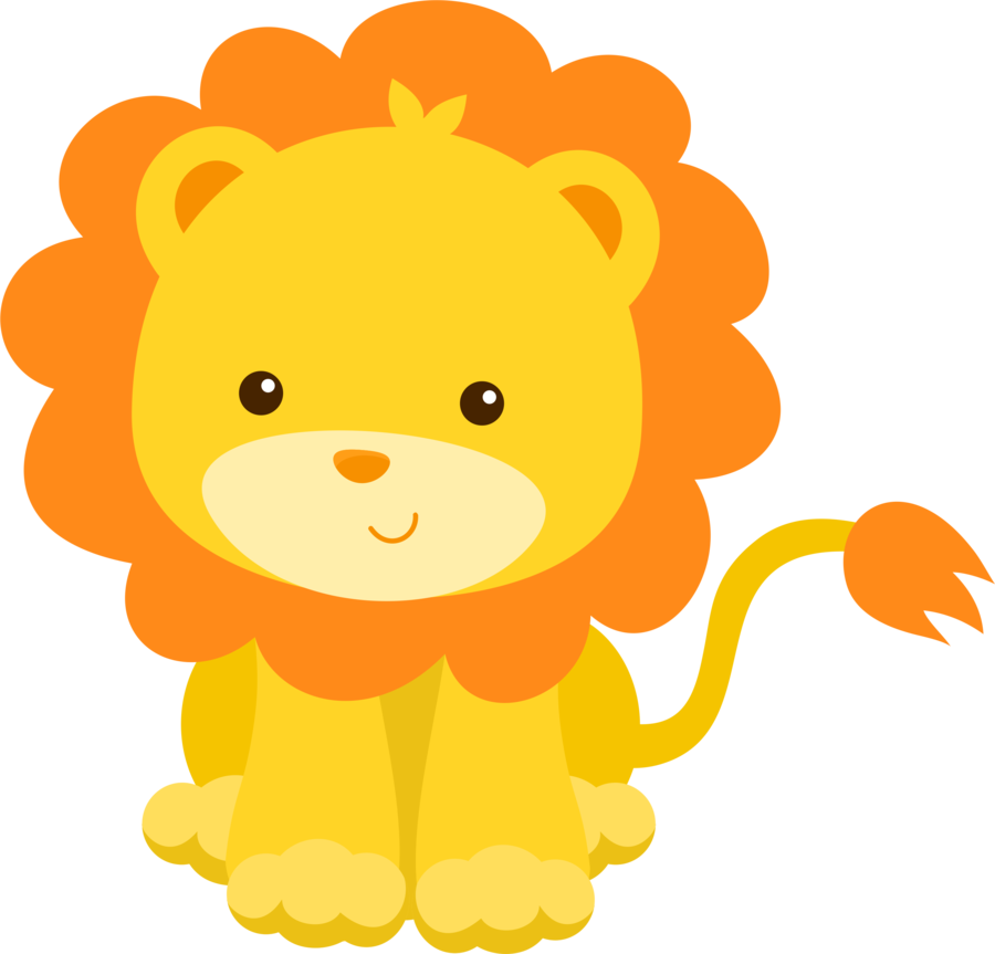 graphic library library Lion clipart cute. Minus say hello animalitos.