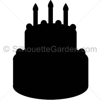svg transparent stock  collection of high. Cake clipart silhouette.