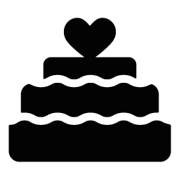 banner royalty free download Cake clipart silhouette. Clip art at getdrawings.