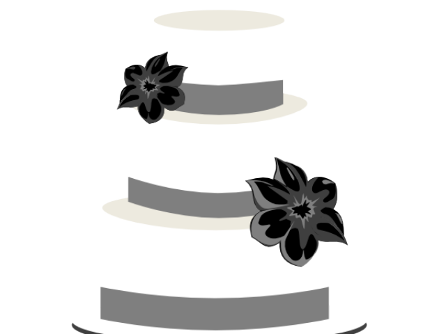 clip transparent library Wedding free on dumielauxepices. Cake clipart silhouette.