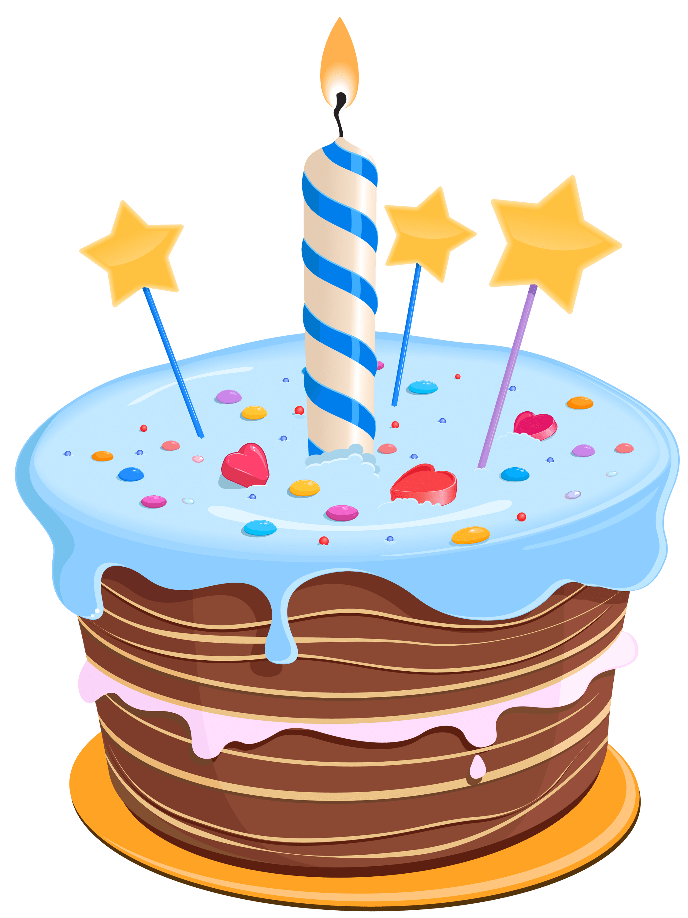 image black and white download Cake clipart transparent background. Birthday drawing blue png.