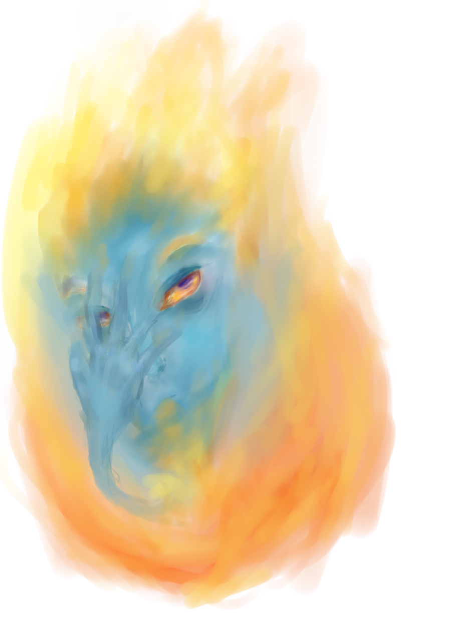 svg Howl s moving castle. Calcifer drawing fire spark