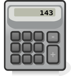 graphic transparent stock Clip art at clker. Calculator clipart