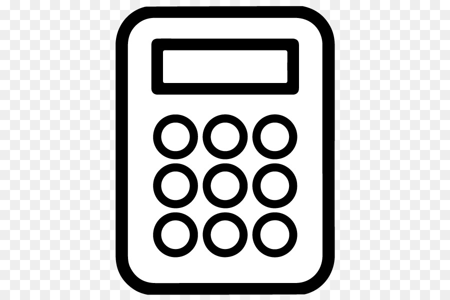 svg stock Technology icon font line. Calculator clipart