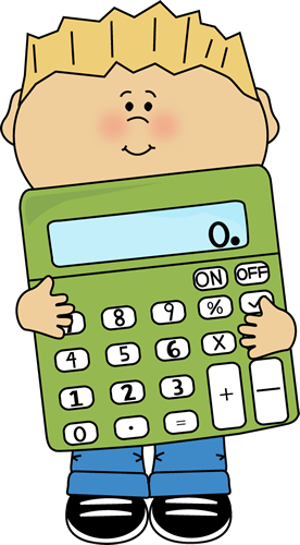 svg freeuse stock Boy holding a giant. Calculator clipart