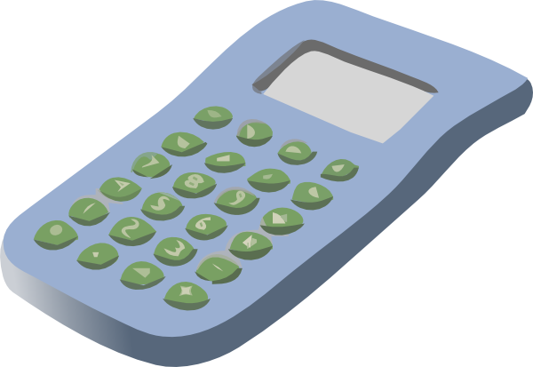 clip art freeuse download Calculator clipart small. Simple clip art at
