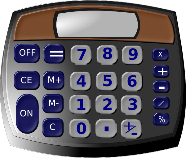 image library download Calculator clipart small. Clip art at clker