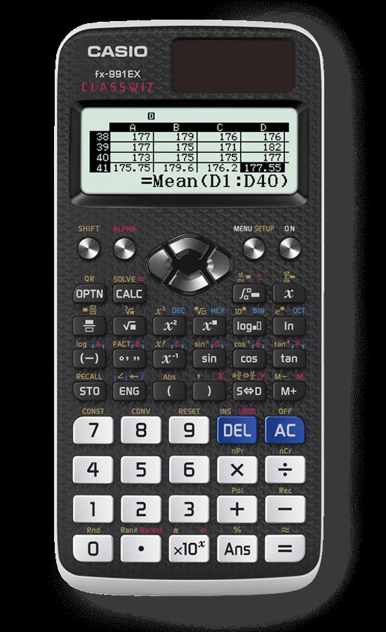clipart ClassWiz Calculator