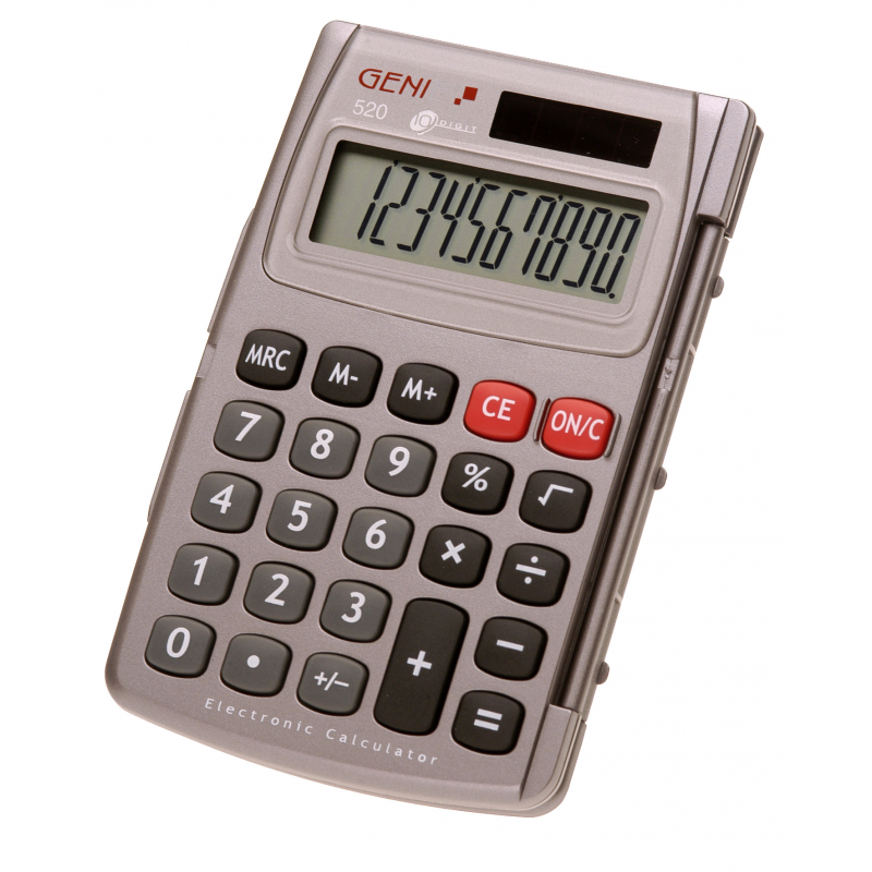 clipart transparent Digital Lcd Calculator