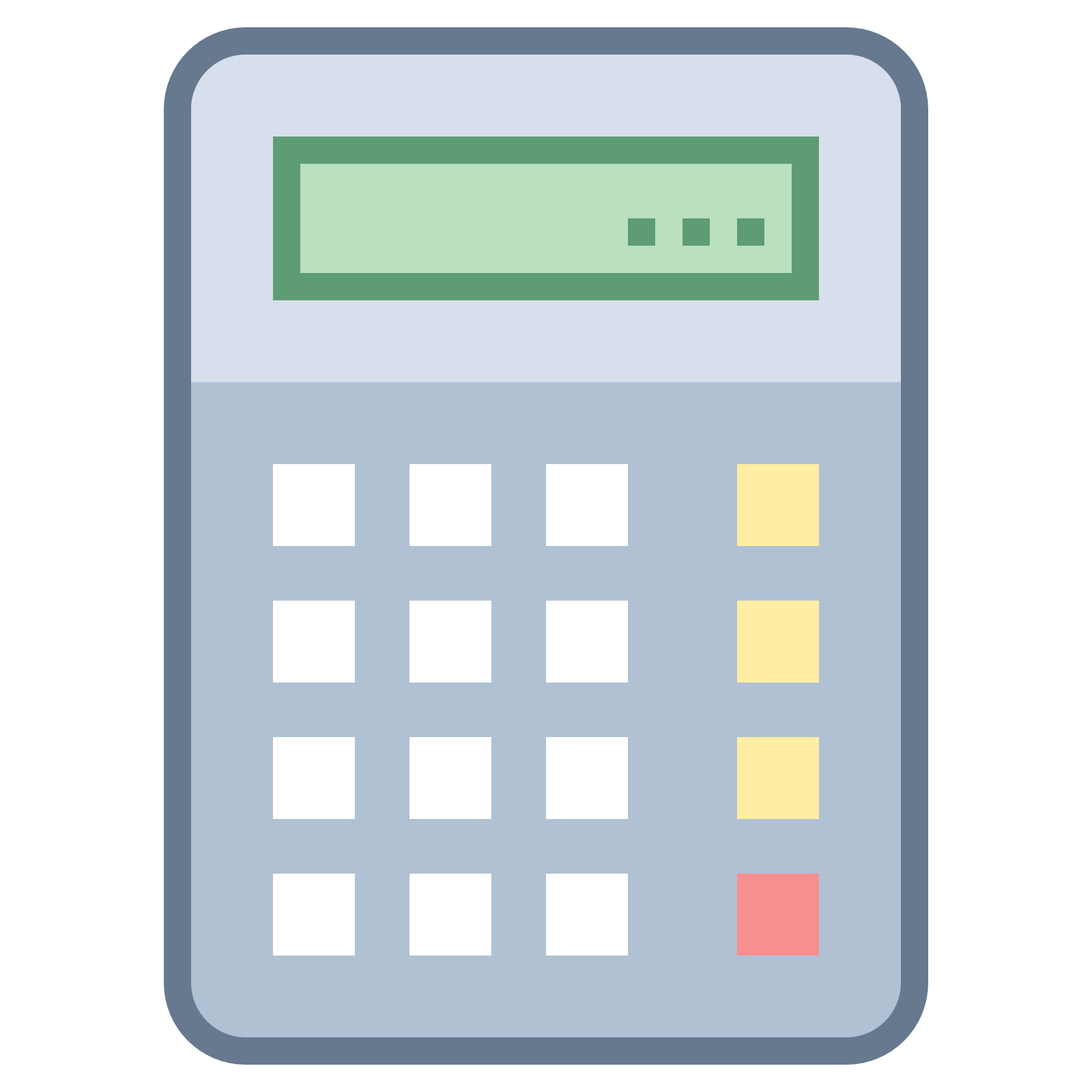 graphic freeuse stock Vector calculation estimate.  calculator buttons png