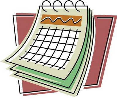clipart royalty free library Free download clip art. Calendar clipart.