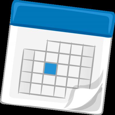 clip art transparent library Download free png transparent. Calendar clipart.